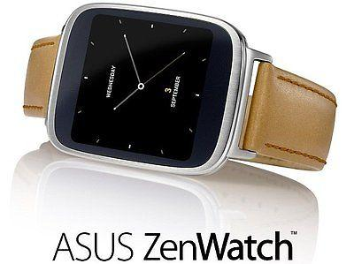 New Asus ZenWatch WI500Q Leather Belt Smart watch Android Wear OS - Free Ship