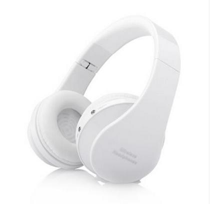 Wireless Stereo Headphone Bluetooth MP3 FM Radio Headset Sports Running Earphone